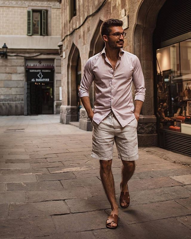 ™ Light fabrics. ------------------------------- #Devallor #comingsoon #ModernGentleman #menwithstyle #mensfashion #menwithclass #stylishmen #gentleman #highfashion #gentstyle #accessories #mensaccessories #classy #classic #elegant #barcelona #spain #outfit #ootd #ootdmen #fashion #shorts #shortpants #summer #instastyle #barca #shirt #streetsofspain #espana  Seen @justusf_hansen Photo: @senorkaya