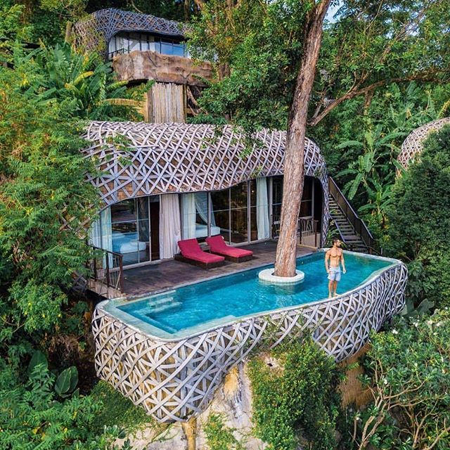 ™ Morning goals. ------------------------------- The stunning @keemalaphuket, an exclusive pool villa #resort with the perfect blend of nature's embrace, Thai cultural philosophy and of course, world class hospitality. |Photo by @andredemello |  #luxurylistings #phuket #thailand #Devallor  #ModernGentleman  #menwithstyle  #stylishmen #gentleman #highfashion #gentstyle #luxury #infinitypool #poollife #pool #resortlife #morninggoals #nature #onewithnature #perfectshot #travelgram #passportready #summervibes #housegoals #luxurylife #luxuryhomes #chilling #relaxed