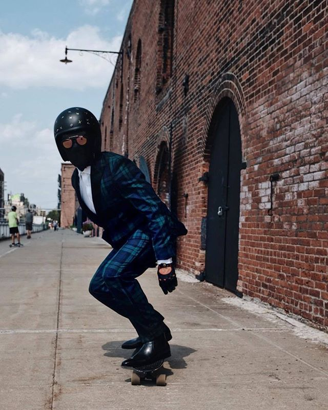™ Rolling. Seen @thesuitedracer ------------------------------- #Devallor #skateboard #skateboarding #skatelife #skate4life #suited #TheSuitedRacer #TheBlackTux  #dapper #smart #black #suited #leather #luxury #nice #cool #damncool #skateboardlife #bobber #chopper #motorcycle #bikeporn #motorbike #bikelife #motorcycles #bobberporn #chopperporn #harleydavidson #cruising #instagood