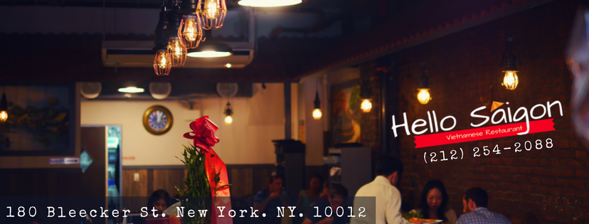 Menu | Hello Saigon | Vietnamese Food | NYC