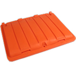 ORANGE RECYCLING LID