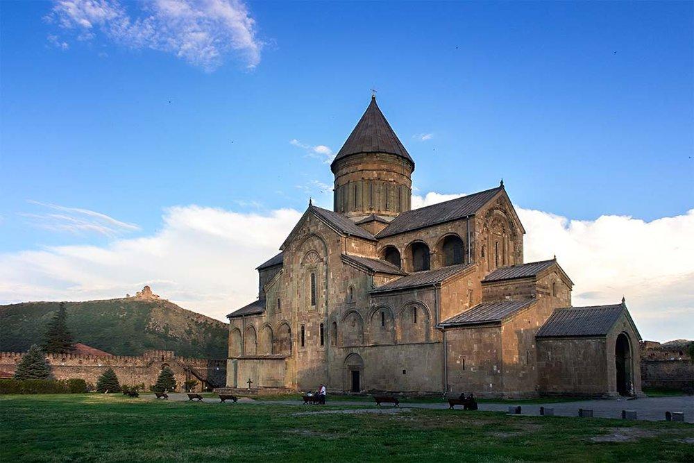 Собор Светицховели - Именно здесь жила Нино, впервые оказавшись в Иберии.