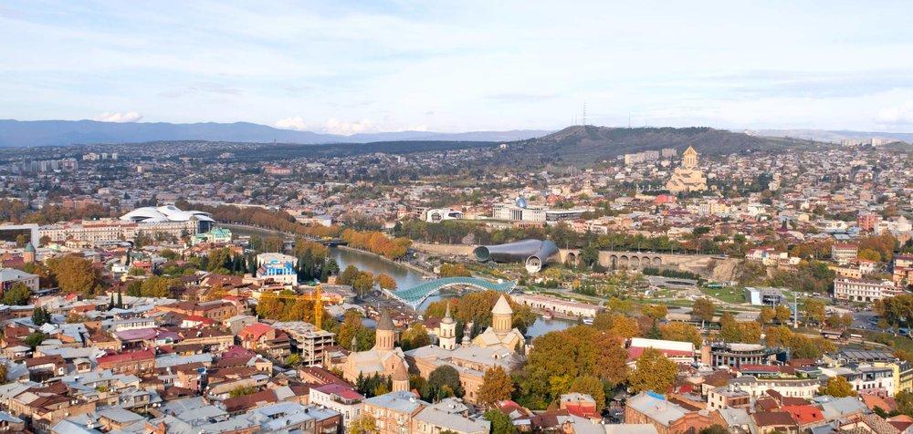Тбилиси Панорама Столица Грузии Отдых Тур по Грузии NAMERANI.jpg
