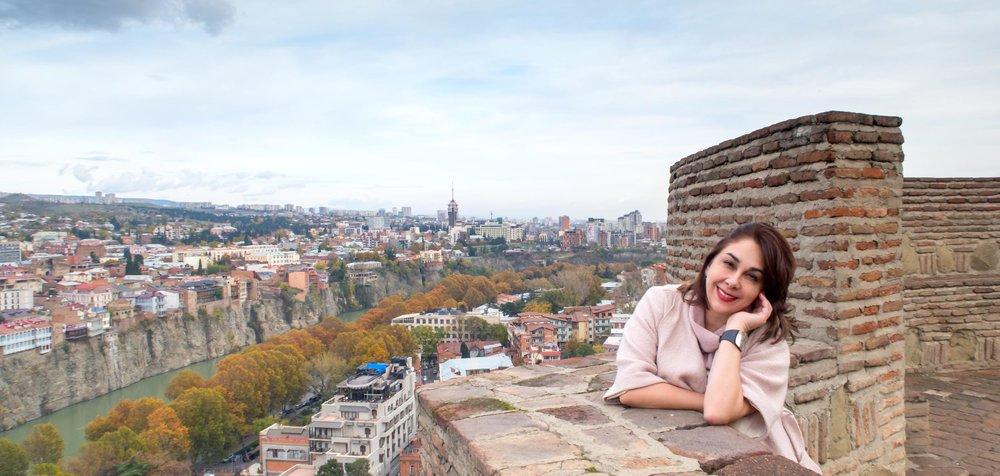 Тбилиси Панорама Крепость Нарикала Грузии Отдых Тур по Грузии NAMERANI.jpg