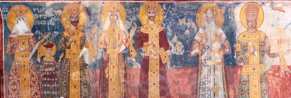 Монастырь Гелани Добраться Тур Отдых Грузия Фрески NAMERANI.jpg