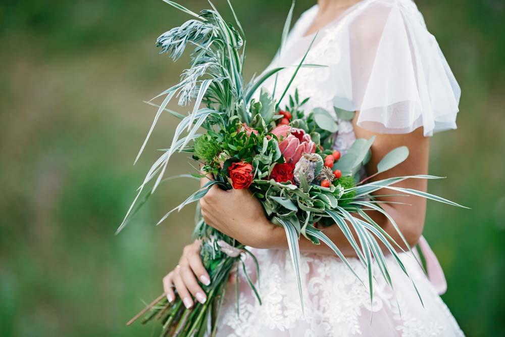 Свадебный букет на заказ