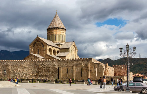 Две столицы Грузии:Тбилиси + Мцхета -