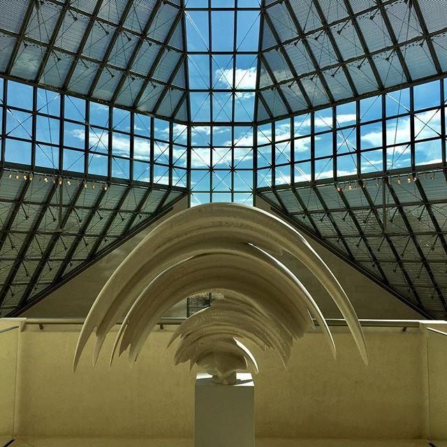 #mudam #luxemburg #museum #art #tonycragg #architecture #bluesky