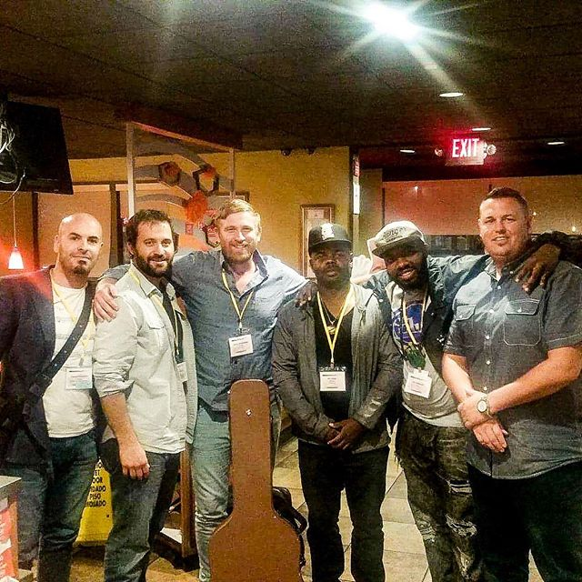 What a great weekend at #taxiroadrally in #losangeles. Met so many great people! These are just 5 of them. But really cool 5 😎 I met at a jam session. Looking forward working together. #songwriter #songwriting #musicproducer #musiclicensing #musiclife