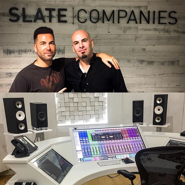 Had a great afternoon at #slatedigital. Impressive facility and even more impressive studio. Thanks for accomodation and insight to the whole team - especially @tfedele. #losangeles #slatecompany #musicproducer #musicproduction #musiclife #musicstudio #slatevmr #slatevms #slateraven #zaor #zaorstudiofurniture #protools