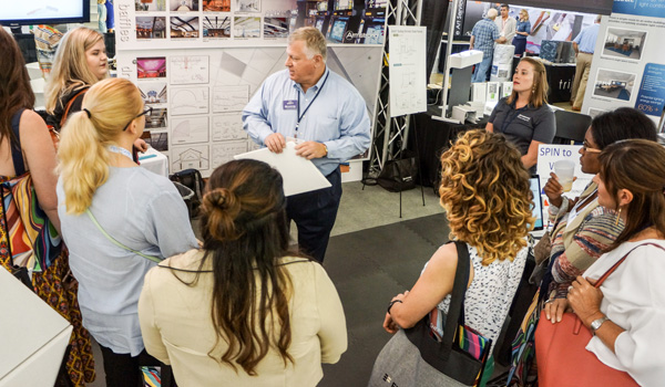 ASID's Design Pathways offered students an expert panel discussion accompanied by a guided tour of the trade show floor with in-depth discussions with ASID Industry Partners.