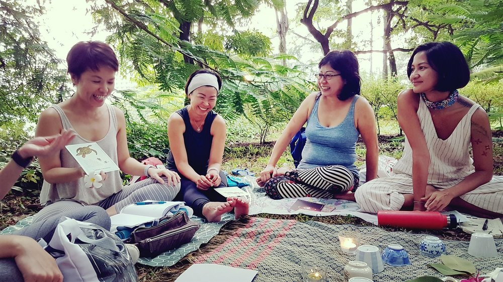 Forest bathing X Women's circle | forest therapy, shinrin yoku