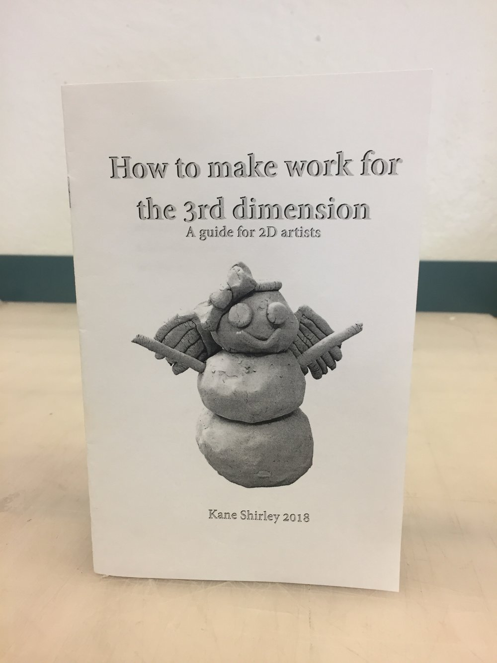How to make work for the 3rd dimension, 2018, inkjet and ceramics   buy here