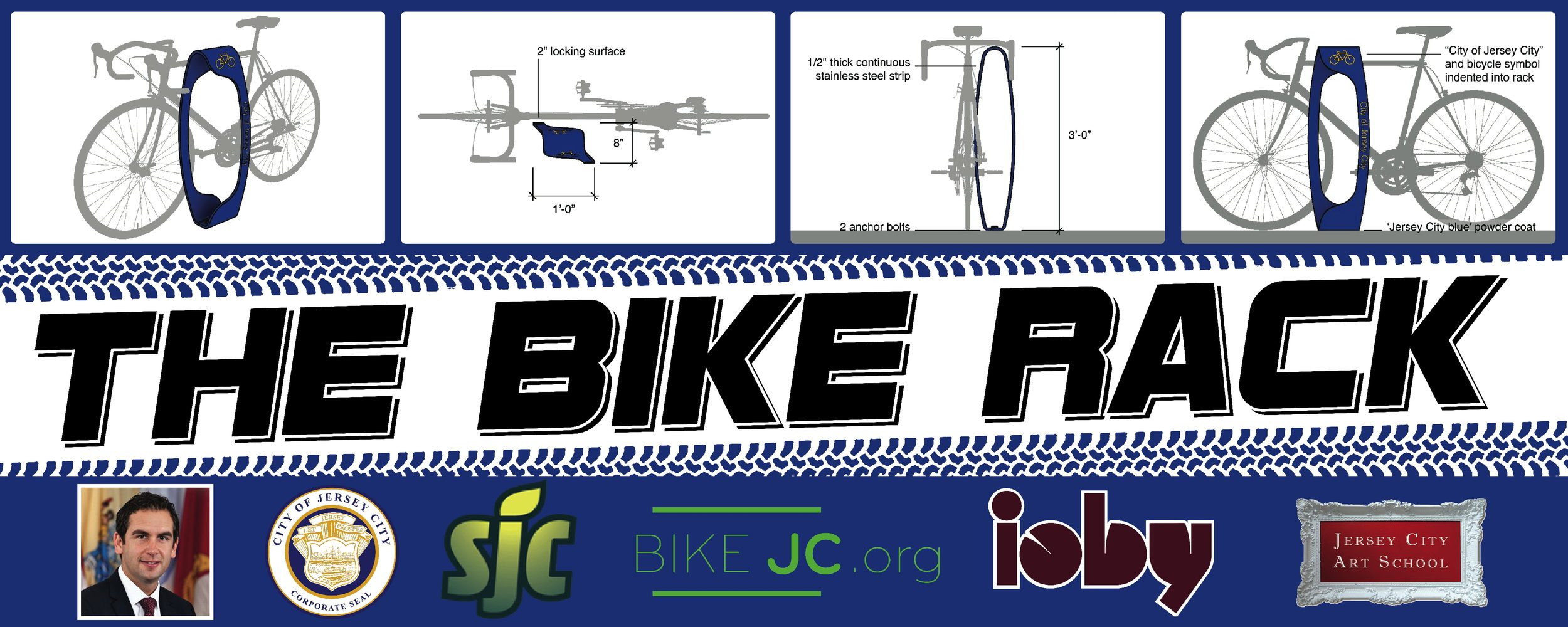 bike rack banner