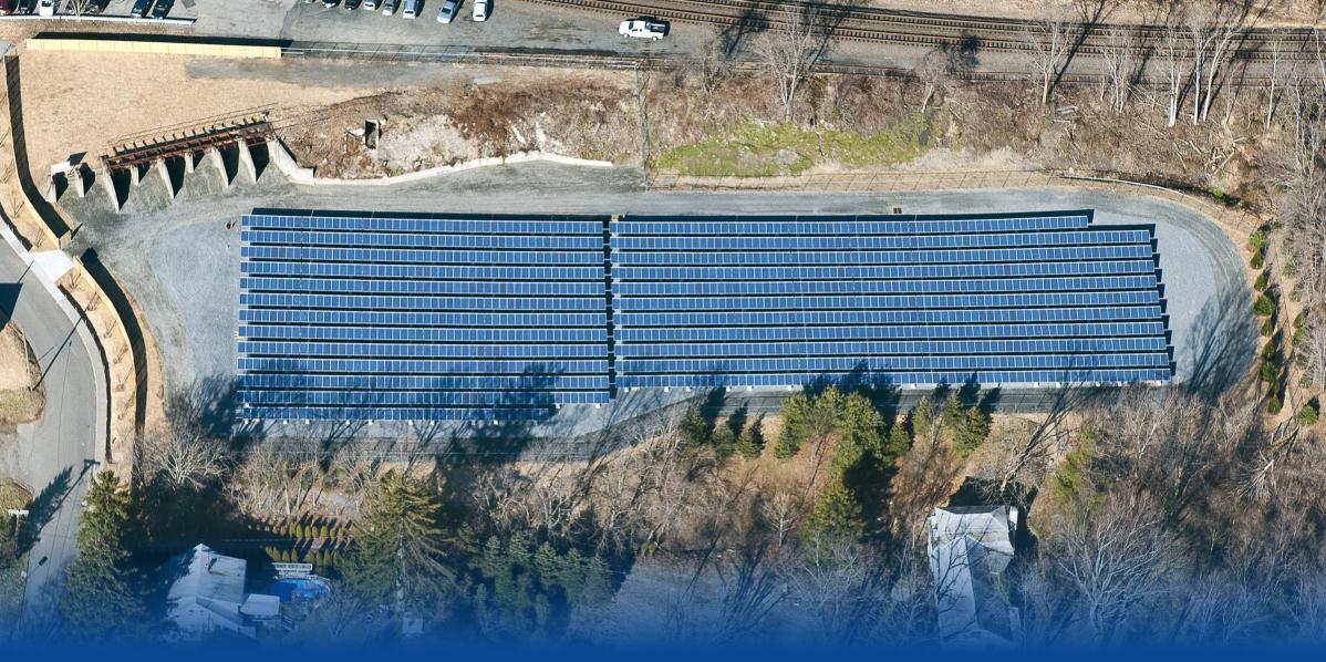 Annandale Solar Farm - aerial view