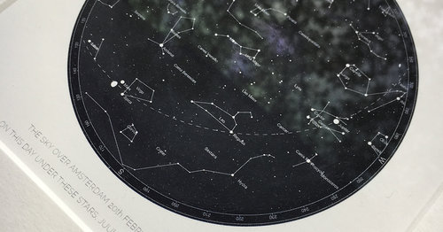 Birthday Star Map.Starmaps By Sarah