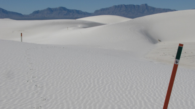 White Sands National Monument Alkali Flat Trail