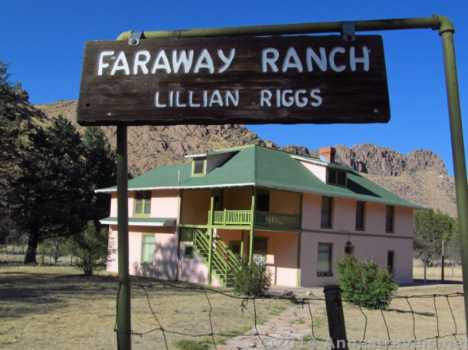 Faraway Ranch Chiricahua National Monument