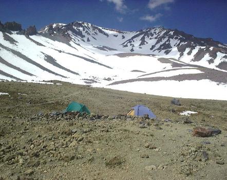 50/50 Plateau Mount Shasta