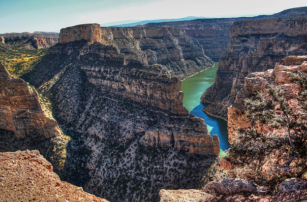 Black Canyon, Bighorn Canyon National Recreation Area, Montana, USA