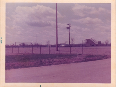 Whiteman Air Force Base (WAFB) April 1975 - Kilo 5 missile site.