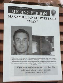 "Maximillian ""Max"" L. Schweitzer missing poster"