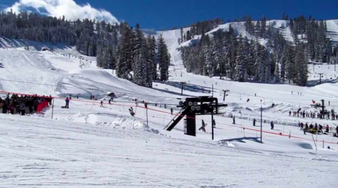 Bear Valley Ski resort California
