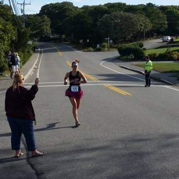 Third place female at Zooma Cape Cod Half Marathon 9/26/2015