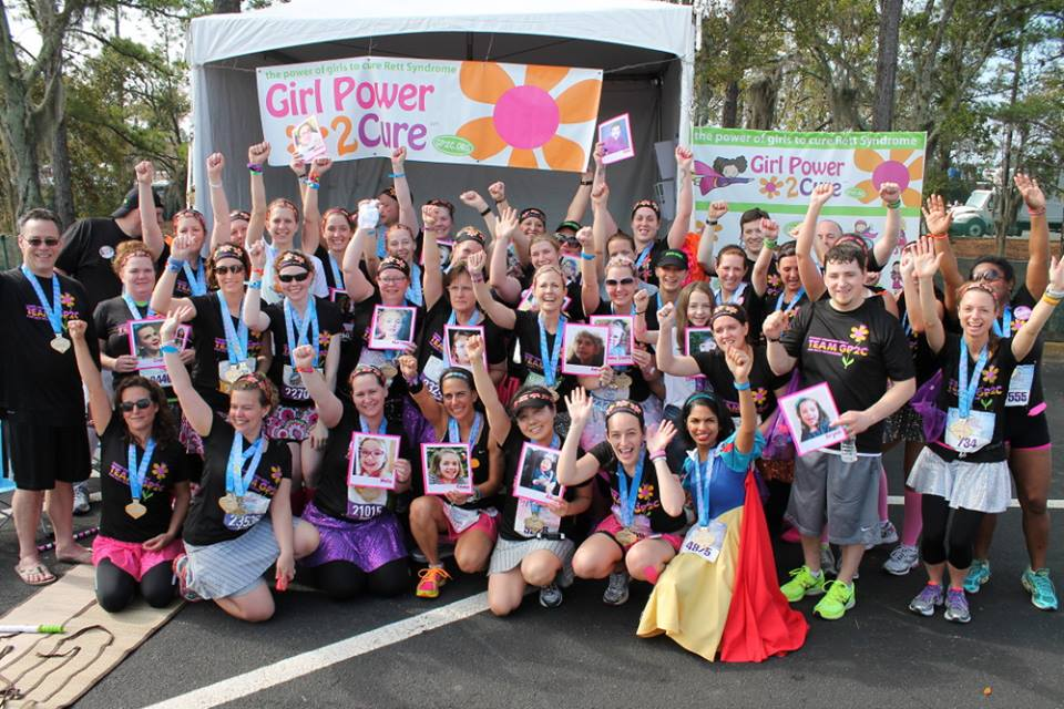 The Girl Power 2 Cure Disney Princess Half Marathon team!