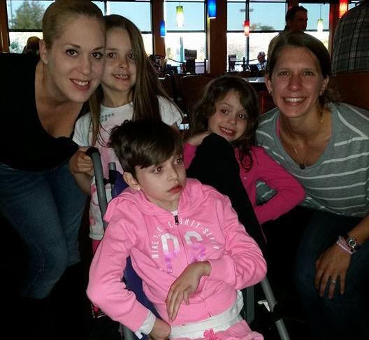 Tarah and her beautiful daughters! So honored to meet Julia.