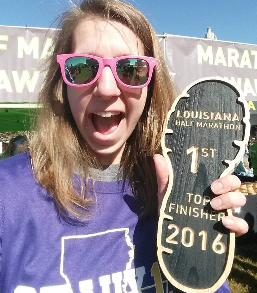 Hey hey! My award for 1st place in my age group!