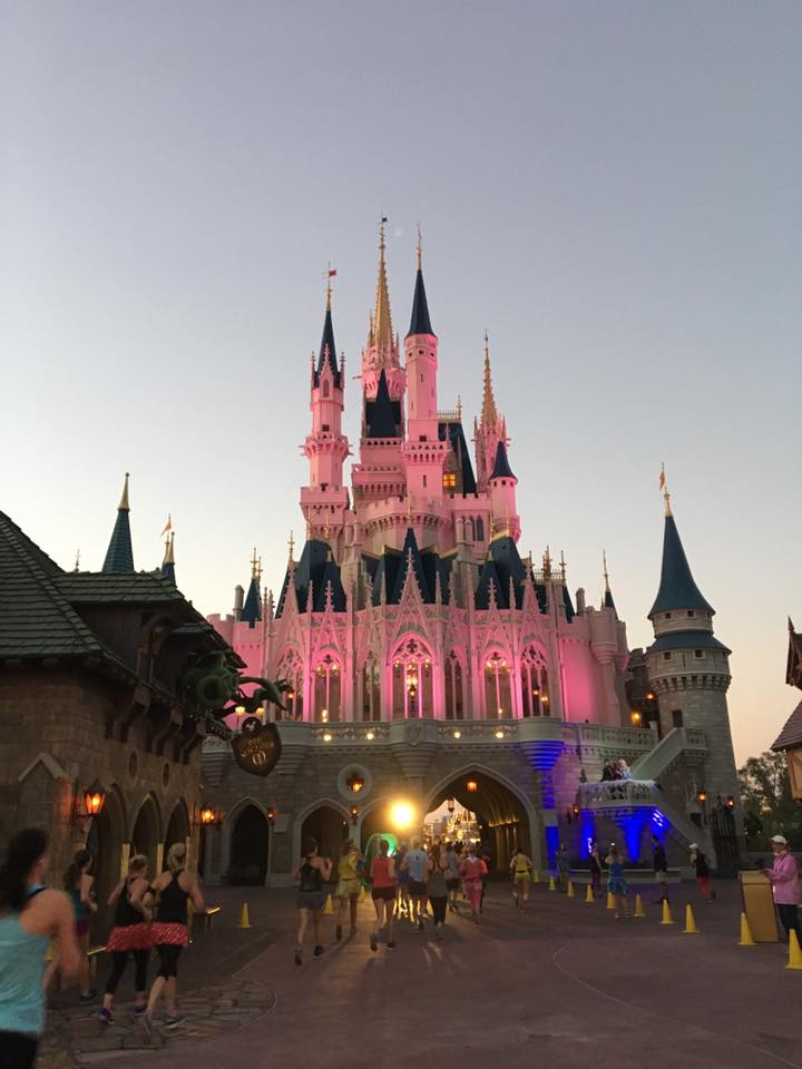 The castle is beautiful!