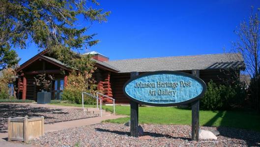 Johnson Heritage  Post Art Gallery -