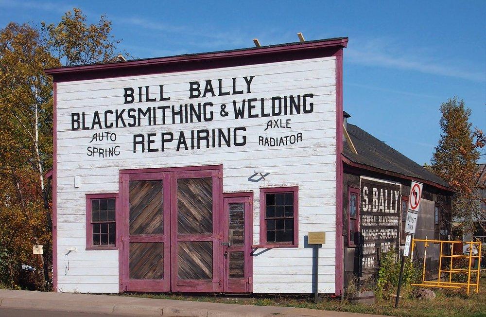 Bally Blacksmith Shop -