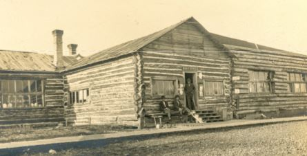The original Johnson's Trading Post
