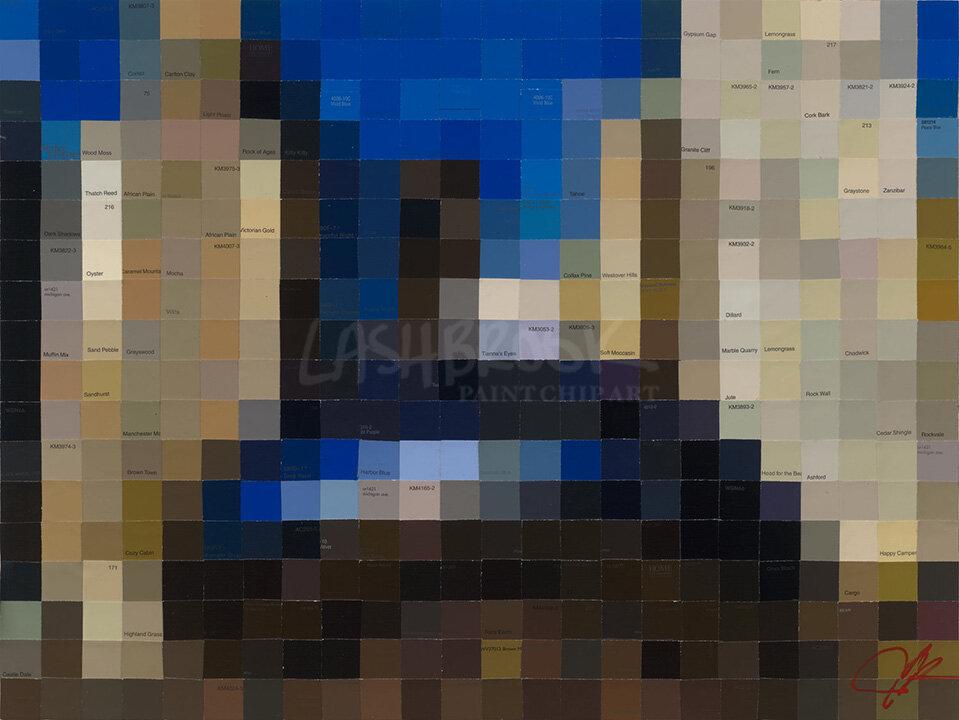"""The Bean, 2017. 18""""x24"""""""