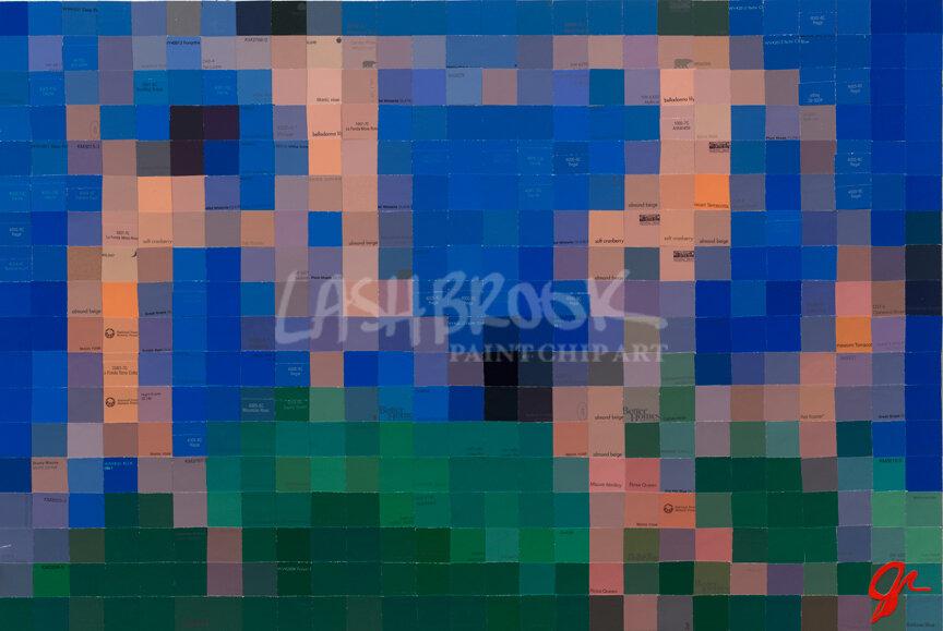 """Matisse's Dancers, 2017, 18""""x27"""""""