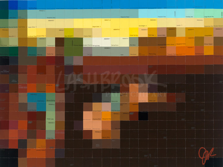 "Dali Persistence of Memory, 2014, 18""x24"""