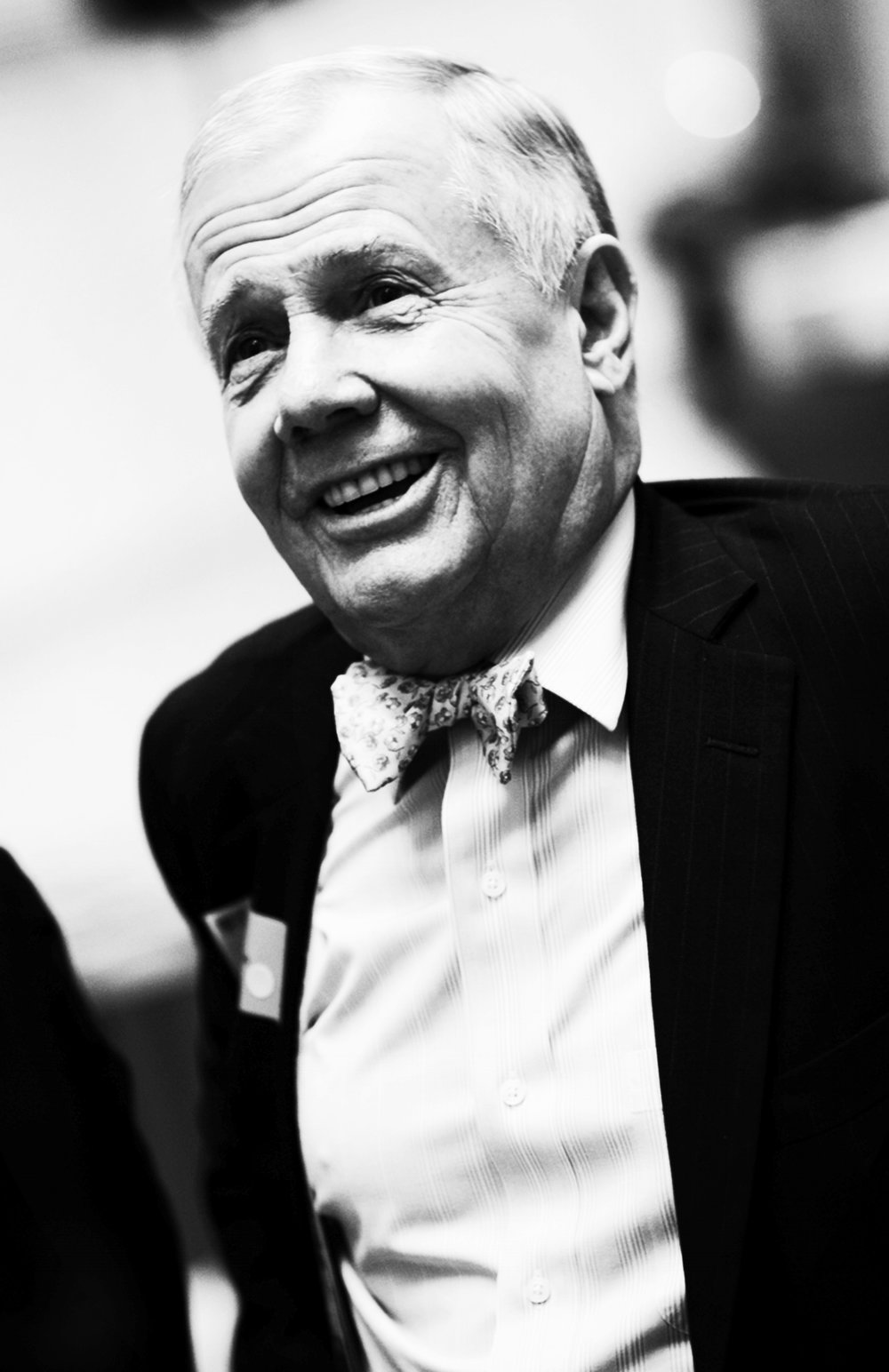 Jim Rogers     Investment Expert and Author   Jim Rogers, a native of Demopolis, Alabama, is an author, financial commentator, adventurer, and successful international investor.   After attending Yale and Oxford University, Rogers co-founded the Quantum Fund, a global-investment partnership, Rogers serves as a full professor of finance at the Columbia University Graduate School of Business, and, in 1989 and 1990, he was the moderator of WCBS's 'The Dreyfus Roundtable' and FNN's 'The Profit Motive with Jim Rogers'.