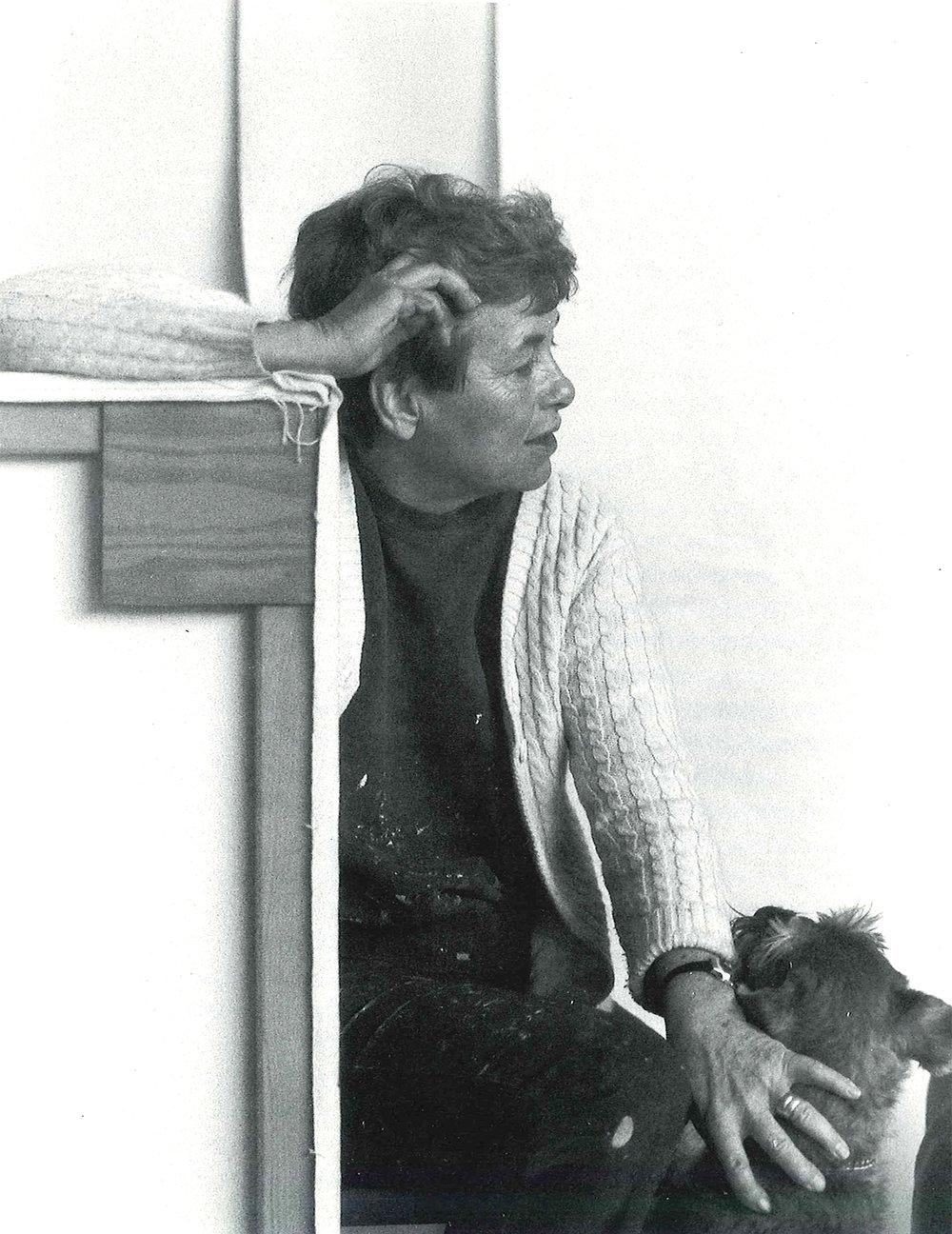 Dorothy Fratt    à la fin des années 1980 - photo de Jose Bermudez