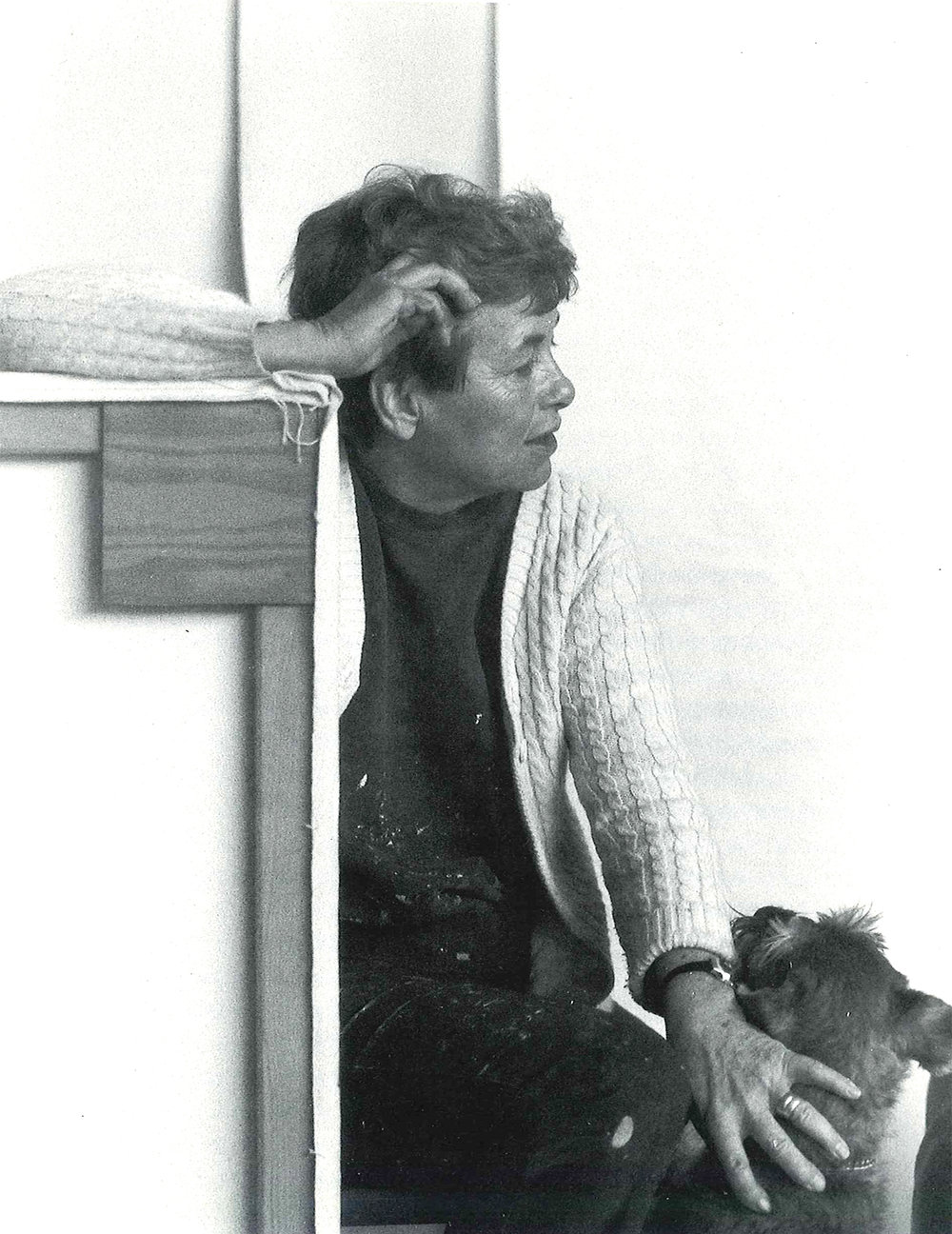 Dorothy Fratt    in the 1980s - Picture by    Jose Bermudez