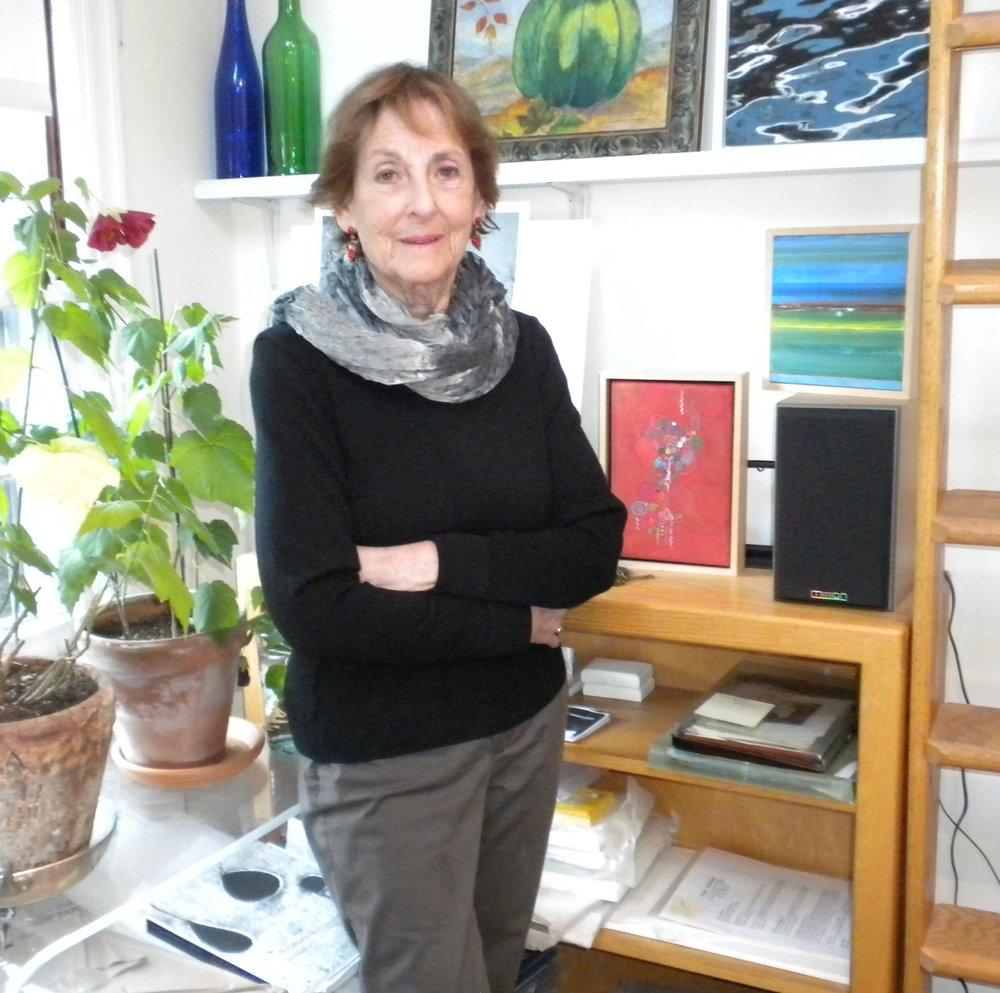 Mona Dukess in her Larchmont studio