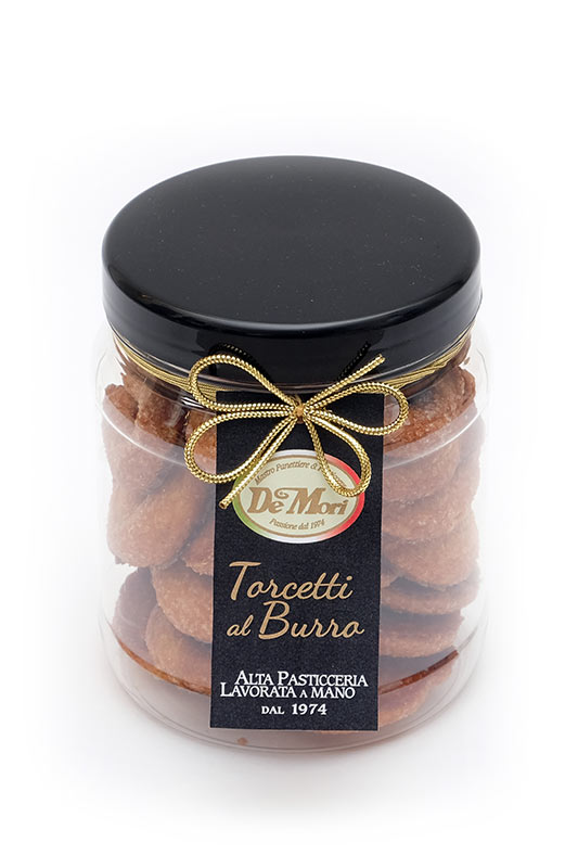 Vaso Pet Torcetti Burro Gourmet