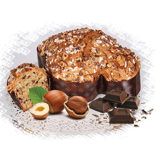 Colomba cioccolato e nocciole