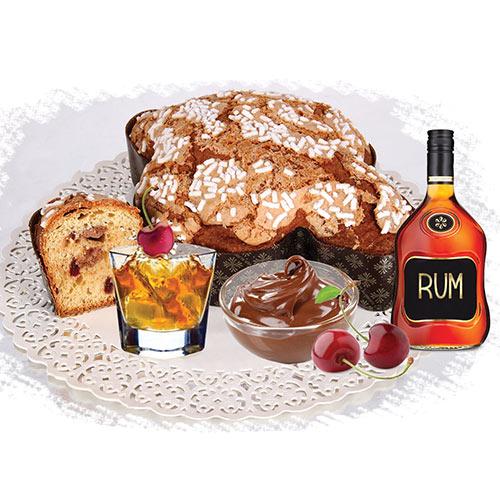 Colomba Rum fetta