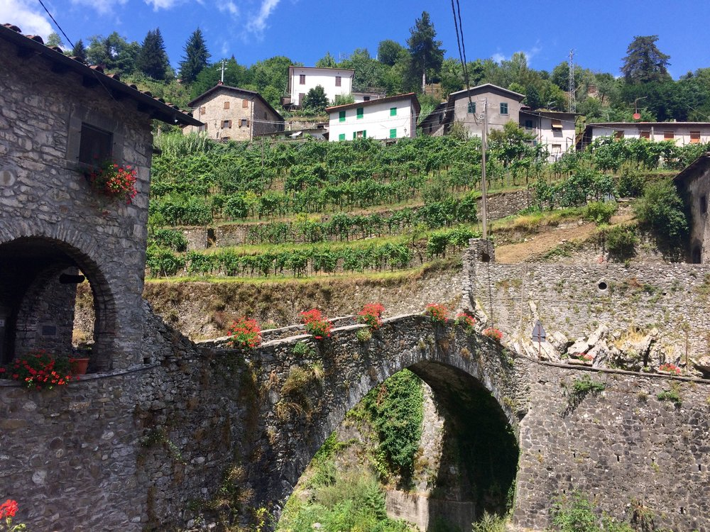 4. Passo Sella - 7.7 km, avg. 6%Sella is saddle in Italian, and to me, it's the closest link from Lucca to Garfagnana Valley. The Lucchese side is steeper with a gradual descent through Fabbriche di Vergemoli (shown) where I heard they're selling houses for €1. At the top, there's an option to take a slightly longer route or a shortcut. Take the longer route, it's well worth it. Would also advise you spend your euro on a cappuccino instead of these houses.