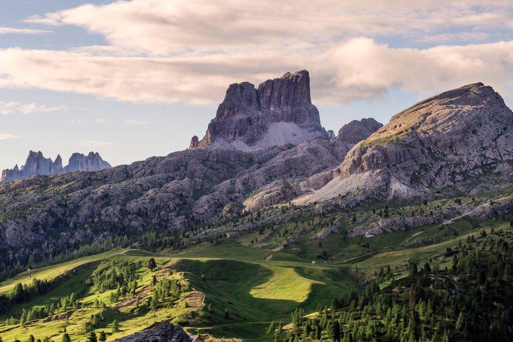 The spectacular Dolomites. Photograph: Simone Orsucci