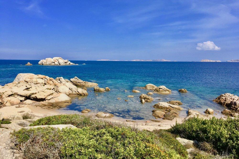 Strand im Norden Sardiniens: Spiaggia La Licciola