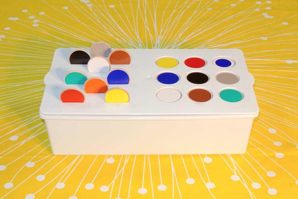 Buying childrens paints is a responsible task for parents