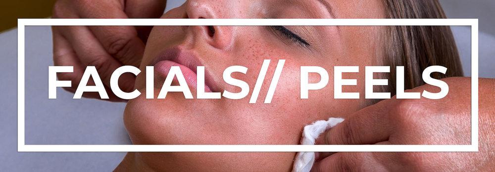 Facials and Chemical Peels